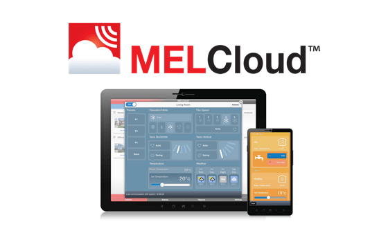 MELCloud on the app