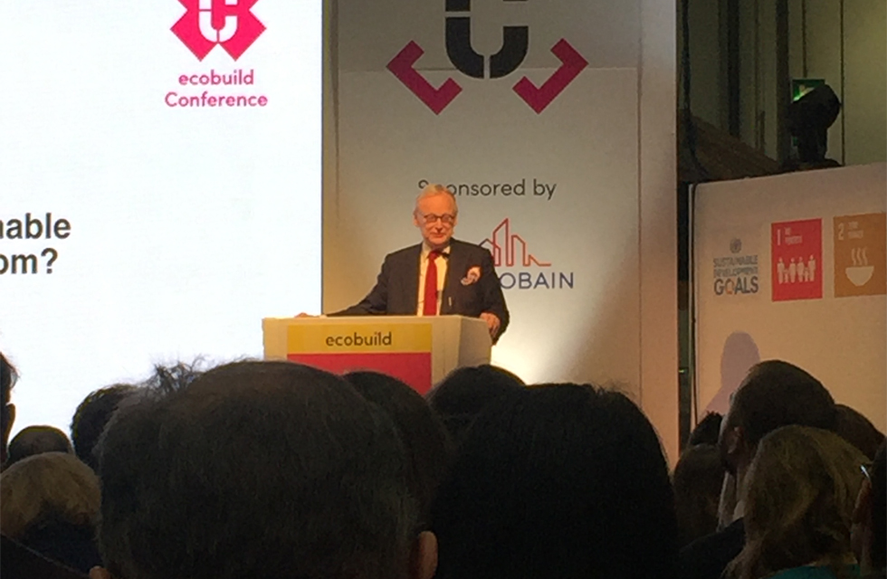 Lord Deben at Ecobuild