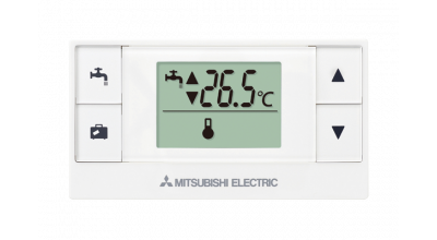 Simple PAR-WT50R-E control with water heating and temperature control