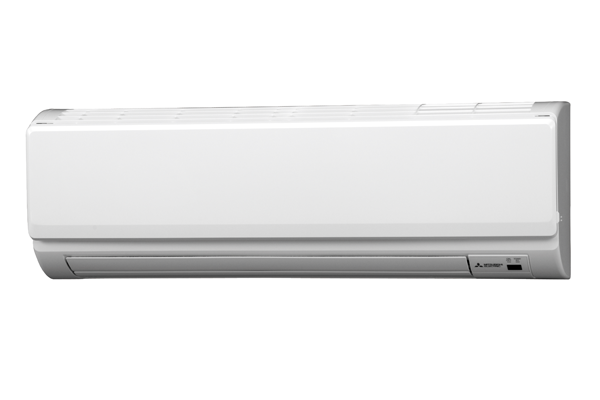 White indoor air conditioner