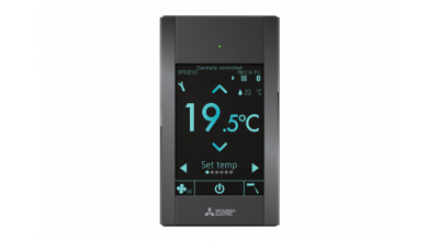 A simple air conditioning touch screen controller