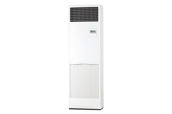 A power inverter heat pump that's floor standing