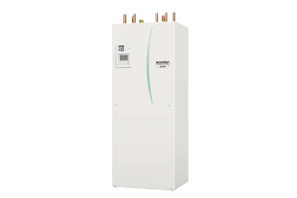Monobloc air source heat pump for home use