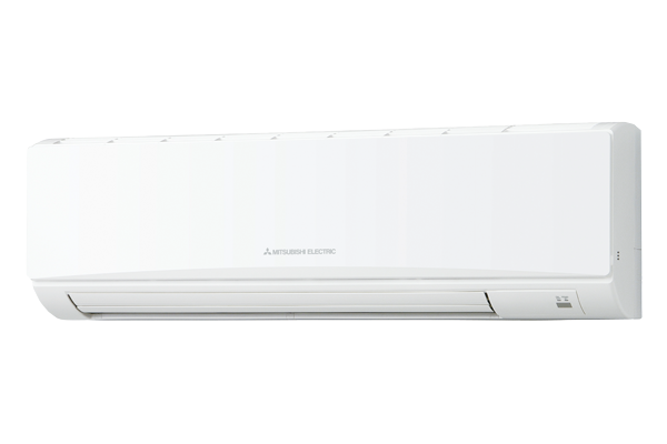 Streamlined air conditioner for the wall