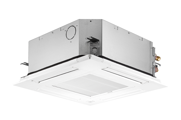 Suspended cassette air conditioner for ceiling installation