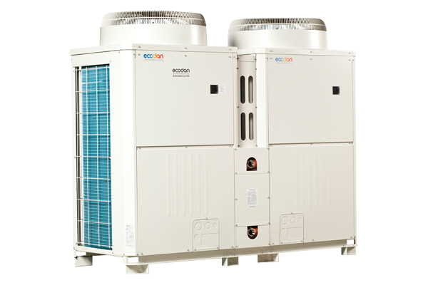 Two CAHV monobloc heat pumps