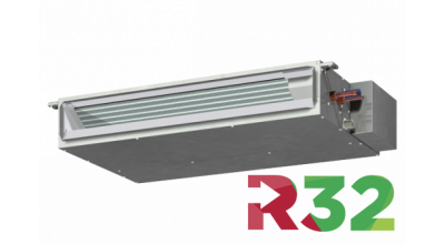 Concealed ducted R32 A/C system for ceiling fit