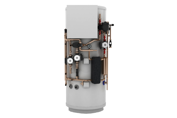 Heating cylinder for home installation