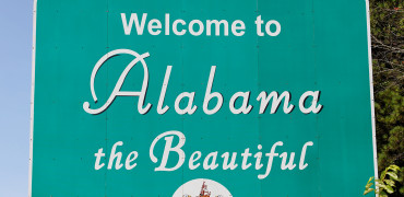 S Town Alabama Sign